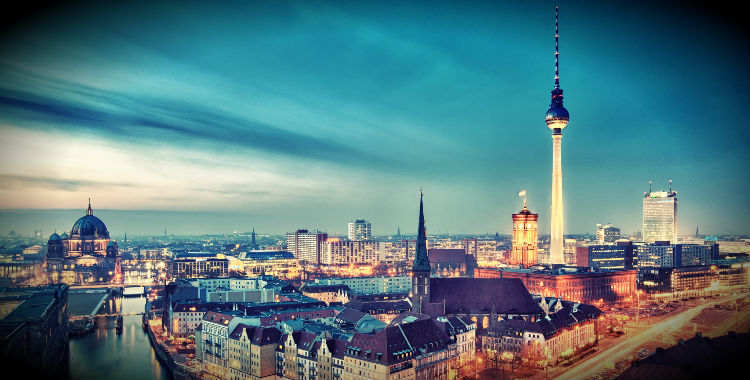 Berlin, Germany home to 3,460,725 people.