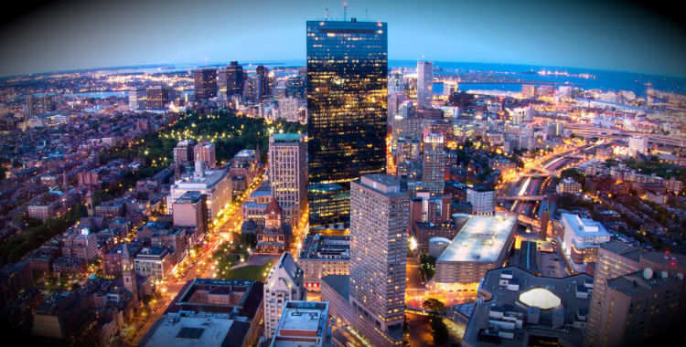 Boston (MA), United States of America home to 645,169 people.
