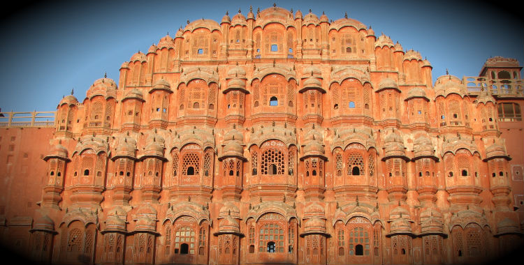 Jaipur, India home to 2,322,575 people.