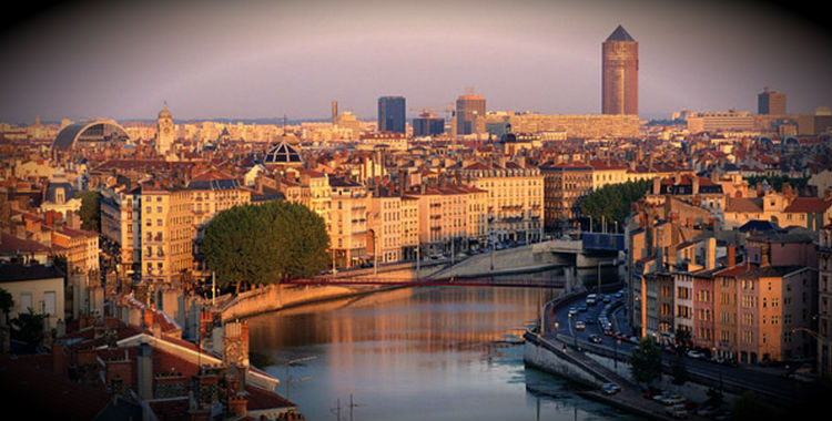 Lyon, France home to 474,946 people.