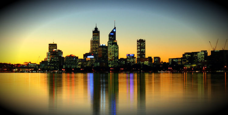 Perth, Australia home to 1,696,065 people.