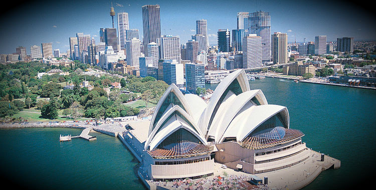 Sydney, Australia home to 4,575,532 people.